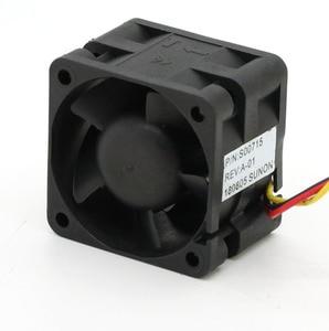 Image 2 - Ventilateurs de serveur à grande vitesse, pour Sunon, original PMD1204PQBX A, 4CM, 4028 12V, 6.8W, 40x40x28mm