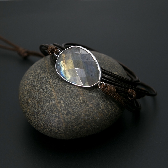 Tiger Eye Blue Labradorite Bracelet