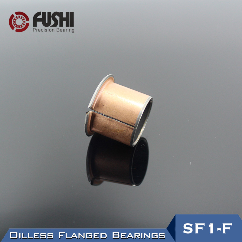 SF1-F Oilless Flanged Bushing Bearing SF1-F06040 SF1-F06060 SF1-F06070 ( 5 Pcs) SF1 Self Lubricating Composite Flange Bearings 20pcs sf1 sf 1 0812 self lubricating composite bearing bushing sleeve 8 x 10 x 12mm free shipping high quality