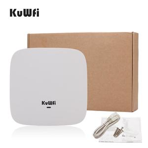 Image 5 - KuWFi Ceiling Mount Wireless Access Point, Dual Band Wireless Wi Fi AP Router with 48V POE Long Range Wall Mount Ceiling Router