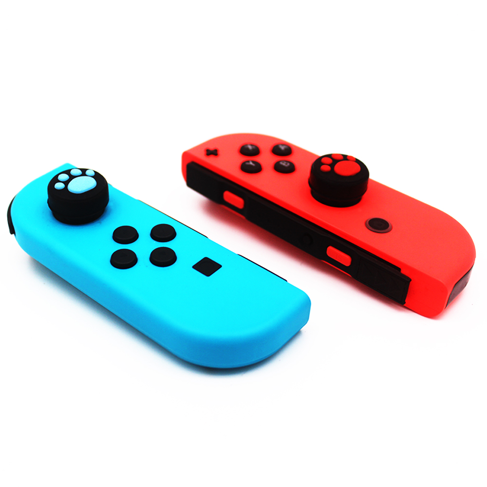 1PC Cat Claw  Silicone Analog Thumb Stick Grips Caps For Nintend Switch NS JoyCon Controller Sticks Cap Skin For Joy Con Cover