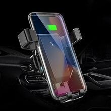 Car Gravity Mobile Phone Holder Buckle Type Car Air Outlet Universal Bracket Car Navigation Support Frame for IPhone Samsung