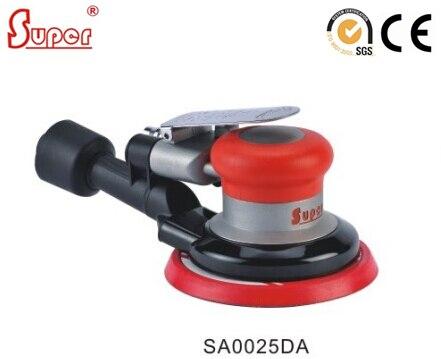 Dust Free 5inch Air Random Orbital Sander with SELF VACUUM Dual Action ORBIT 2 5mm 5mm