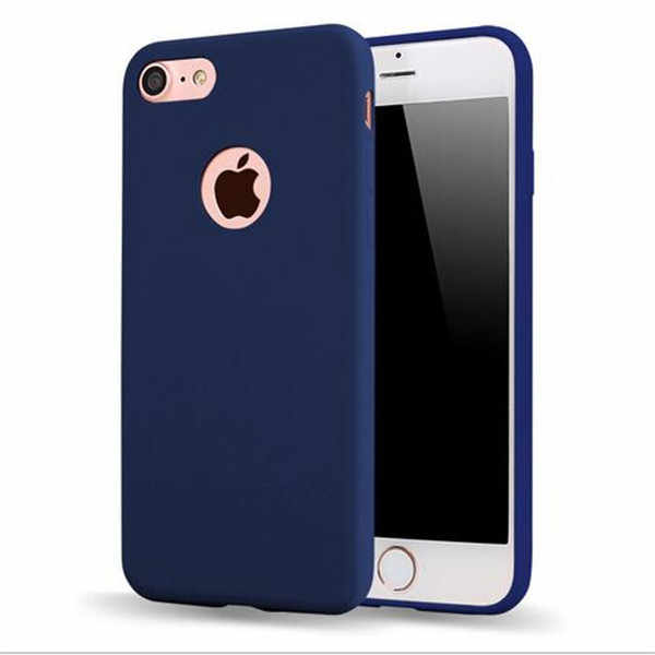 New Ultra Thin Case For iPhone 7 Transparent Candy Colors Soft TPU Silicon Phone Cases For iPhone 6 6S 5 5S SE 7 Plus Coque Capa