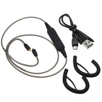 Bluetooth Adapter Receiver Cable For Shure SE215 SE315 SE425 SE535 Wireless Headphones Cable With USB Charge