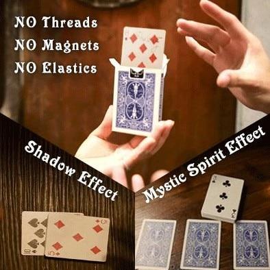 O. R. C. (Optimale Carte Rising) Tours de Magie Magicien Ultime Anneau Carte Magie Close Up Illusion Gimmick Magia Jouets Classique Gadget