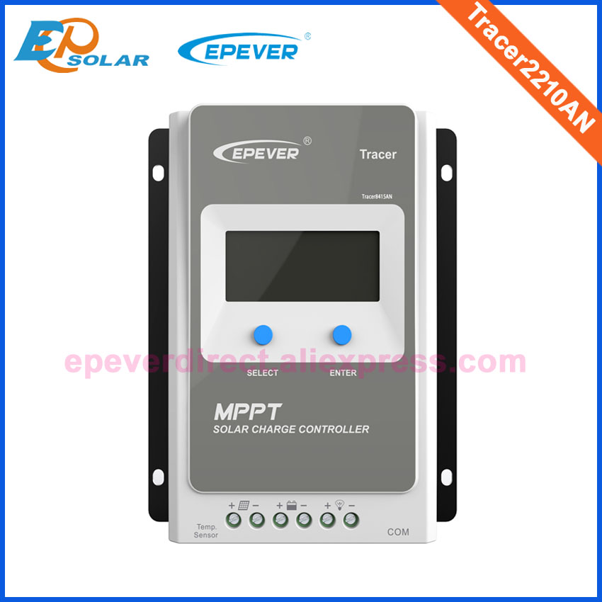 MPPT EPever Solar Charge Controller 40A 30A 20A 10A Tracer AN Series Back light LCD Regulator