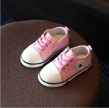 2019 Spring Canvas Children Shoes Girl Breathable Sneaker Shoes