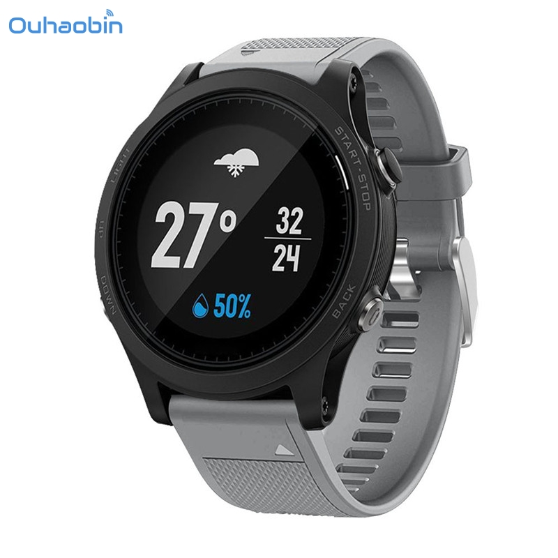 Ouhaobin Replacement Silicagel Strap Soft Quick Release Kit Band For Garmin Forerunner 935 GPS Watch Strap Multicolor Sep7