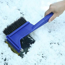 Car Snow Brush Shovel Windshield Window Ice Scraper Clean Emergency Safety Hammer Car-Styling Winter Snow Removal Cleaning Tool retractable handle snow shovel snow brush car cleaning winter car auto ice scraper car suv truck rotatable brush car acessorie