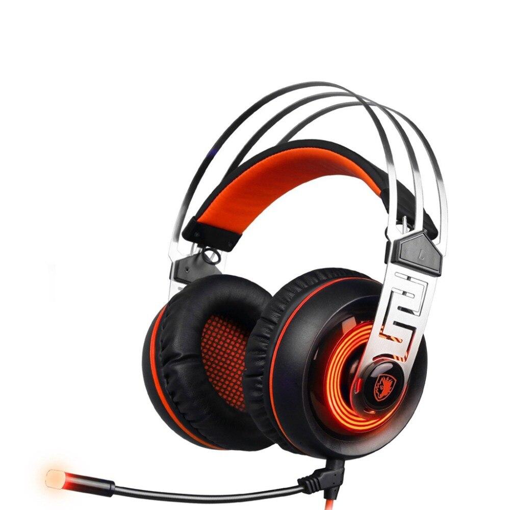SADES A7 7 1 Surround Sound font b Gaming b font font b Headset b font