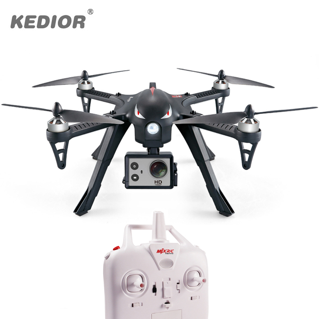 New MJX B3 Bugs 3 Brushless RC Helicopter 80KM/H Remote Control Professional Drone can Add 4k Gopro Camera Free Shipping