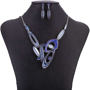 Image 5 - MS1505070 Fashion Jewelry Sets High Quality Lead&Nickle Free Multicolor Pendant Choker Necklace Earrings Set Wedding Jewelry