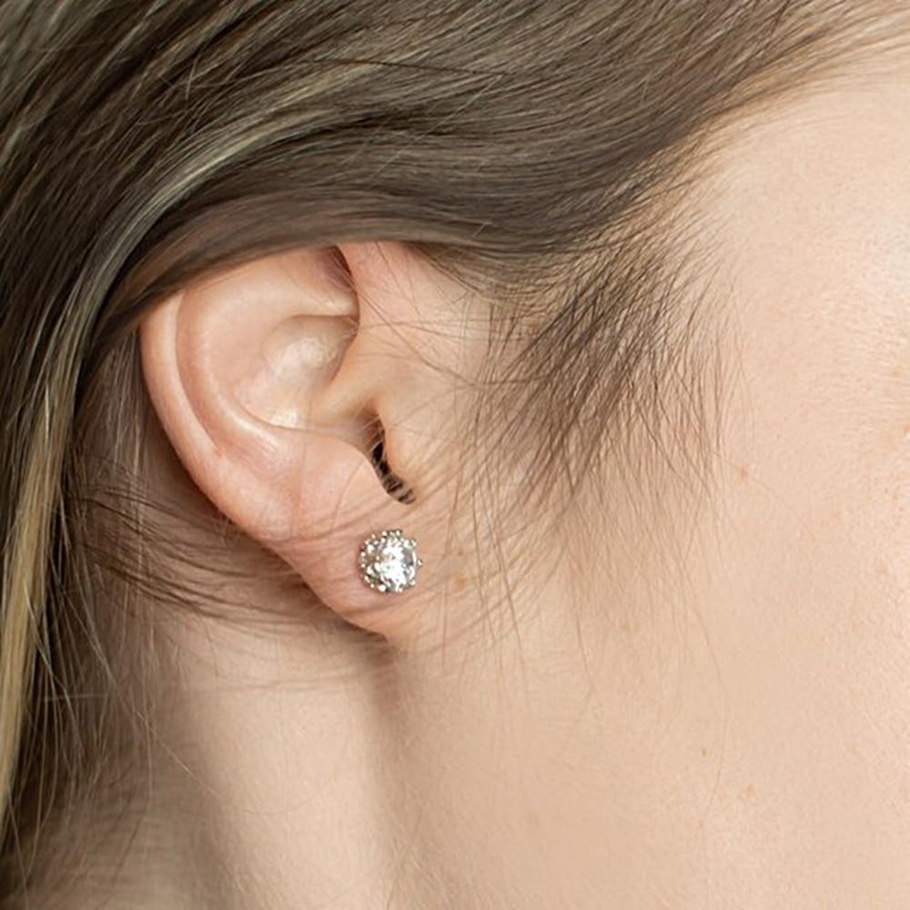 SE10817 925 sterling silver women. stud earrings (5)