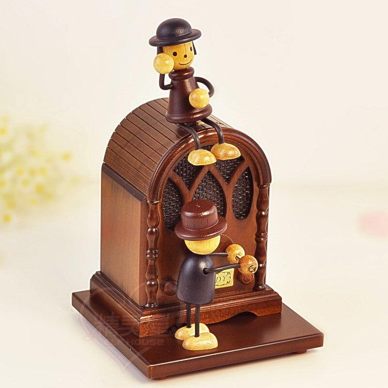 Puppet radio music box music box birthday gift ideas male