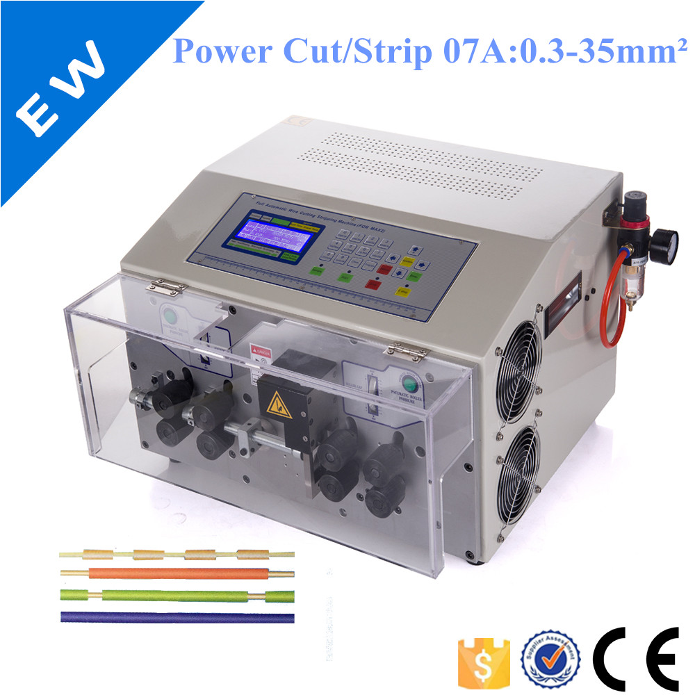 Kabel abisoliermaschine EW 07A + kabel feeder EW 14C + EW 01A mit ...
