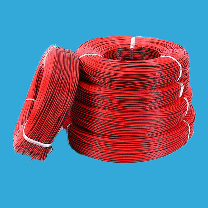 5M 10M Electronic Electrical Copper Rubber Wire 2PIN LED Wire Cable Red Black Wires Cable 2 pin 30meters white 28awg ul1007 cable electronic wire to internal wiring electrical wires diy cables 100ft 28 awg