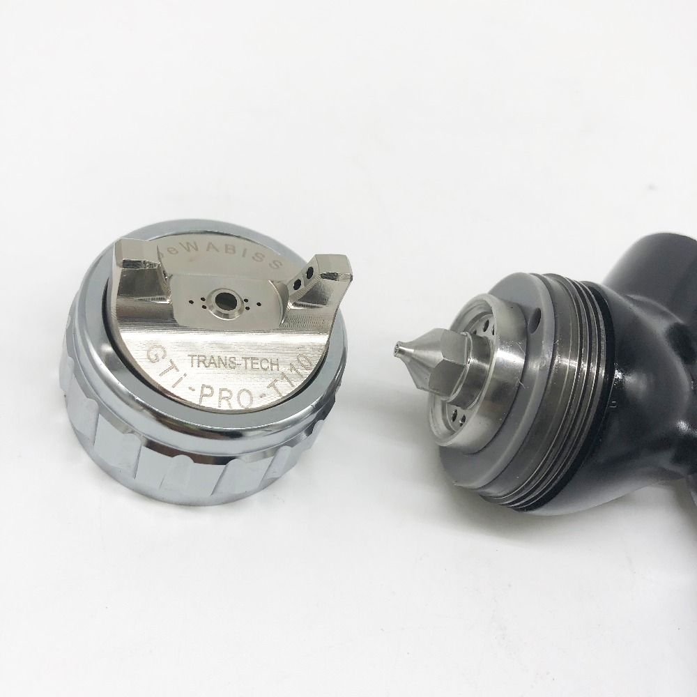 Dewabiss GTI spray paint gun high quality TE20/T110 pro lite airbrush car airless painting 1.3mm nozzle sprayer