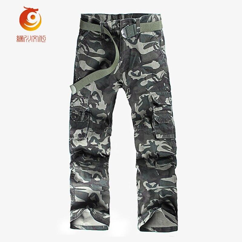 2017 Spring Cotton Camo Pants Men Casual Camuflado Baggy Joggers Dance Sportwear Cargo Pants Slacks Tactical Trousers Sweatpants