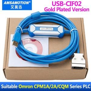Image 4 - USB CIF02 Download Kabel Geeignet Für Omron CPM1A/2A Serie PLC Programmierung Kabel Verbesserte CQM1 CIF02 USB Port