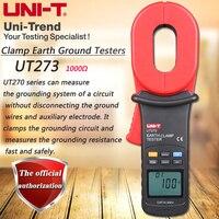 UNI-T UT273 Klem Aarding Weerstand Tester 1000ohm Aarding Weerstand Tester Data Opslag LCD Backlight