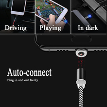 100pcs Magnetic USB Cable For iPh Type C Magnet Charger Data Charging Charge Micro USB Cable For Huawei Mobile Phone Cable цена