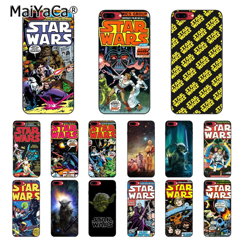 MaiYaCa Star Wars Movie Comic Guys Holding BB-8 Case For iphone 11 Pro 11Pro MAX X XS MAX 6 6s 7 7plus 8 8Plus 5 5S SE XR 10 image