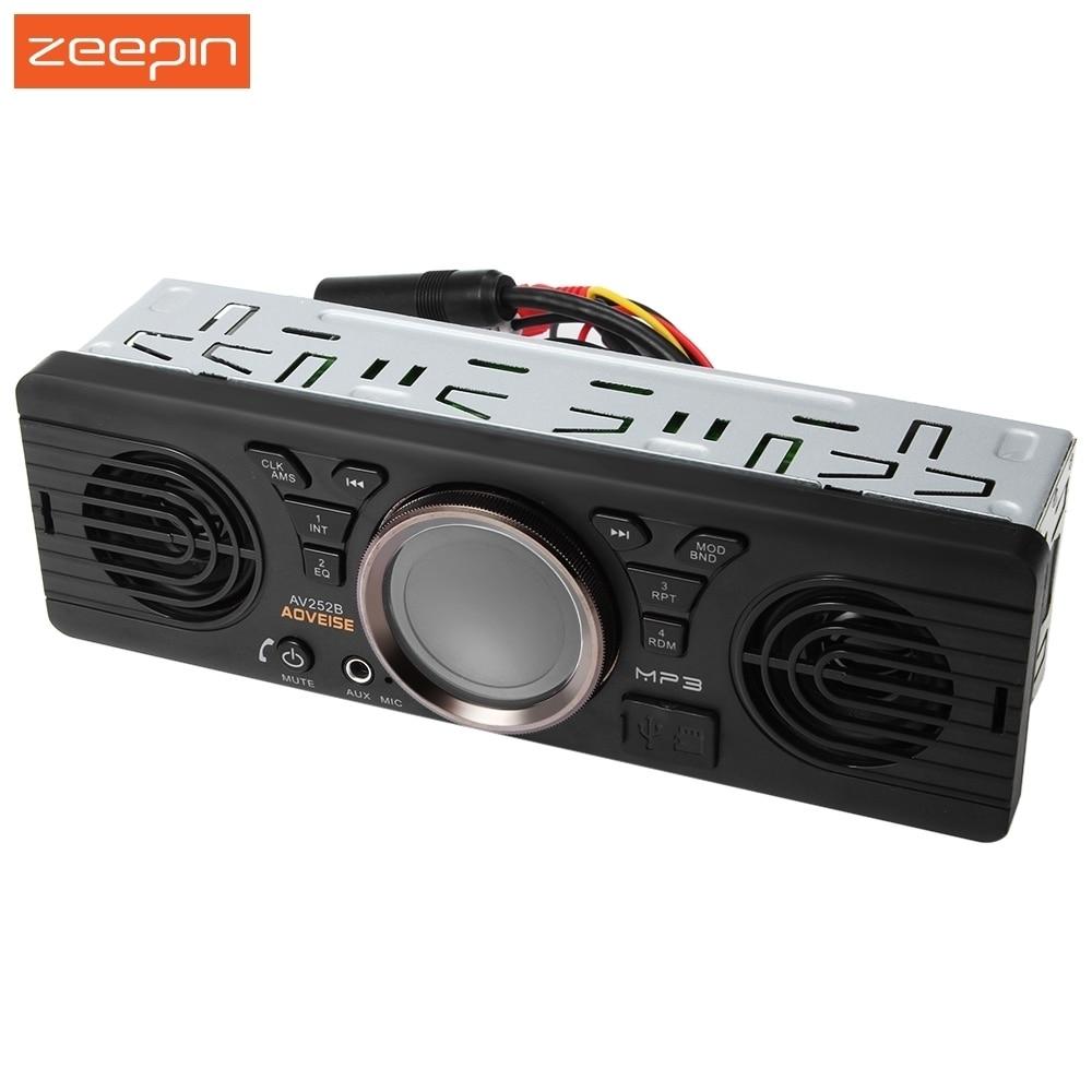 AV252B 12 V Bluetooth 2.1 + EDR Elettronica Del Veicolo In-dash MP3 Audio Player Car Stereo Radio FM con USB/Porta Carta di TF