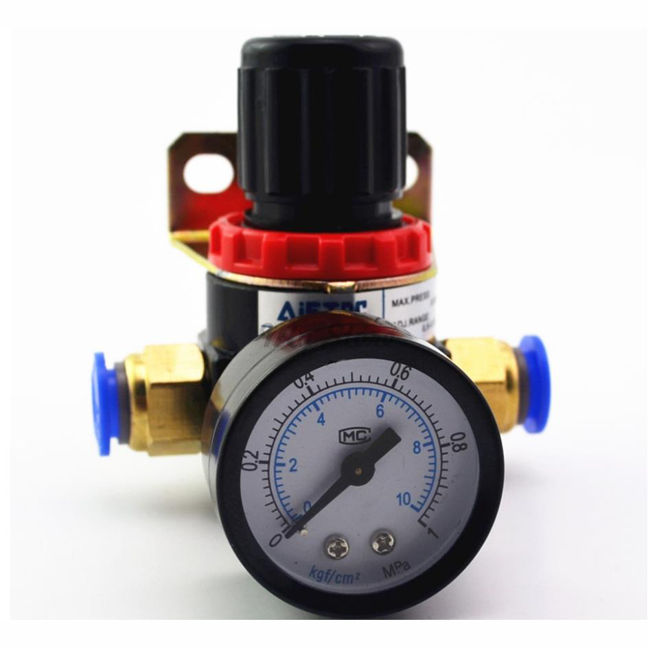 AR2000 Pneumatic mini air pressure regulator air treatment units Good Quality Valve with Gauge 1pc ar2000 g1 4 pneumatic mini air pressure regulator air treatment units factory wholesale good quality bspt valve with gauge
