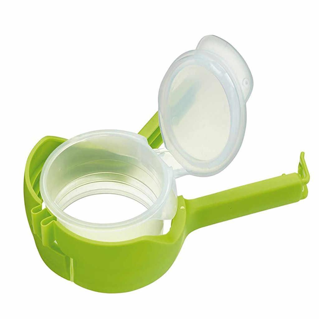 Seal Pour Food Storage Bag Clip Sealing Clip Fresh Keeping Sealer Clamp Plastic Helper Food Saver Travel Kitchen Gadgets 4.10