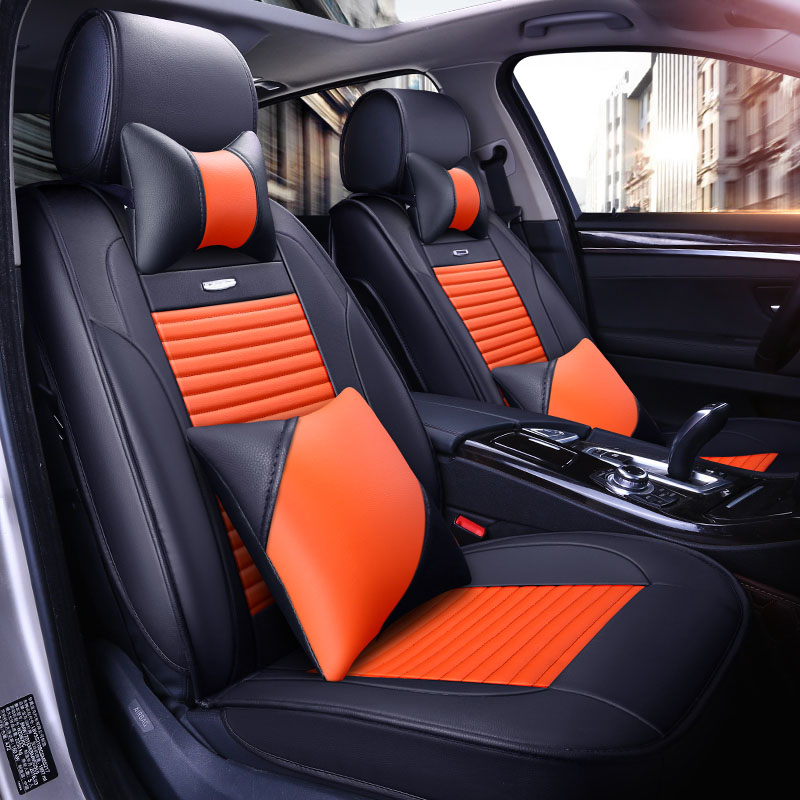 car seat cover Full set car seat covers for Dacia double cab solenza stepway Daewoo Lacetti Lanos car interior accessories