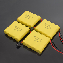 1/2/4/8PCS 4.8 V 700mAh NI-CD Remote Control Toys Electric toy security facilities electric AA battery group