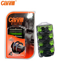 50% For the Second Canfill 2017 Magnetic Rotary Shaving Blade Razor's Replaceable Head For Men's Razors lame rasoir quick rinse