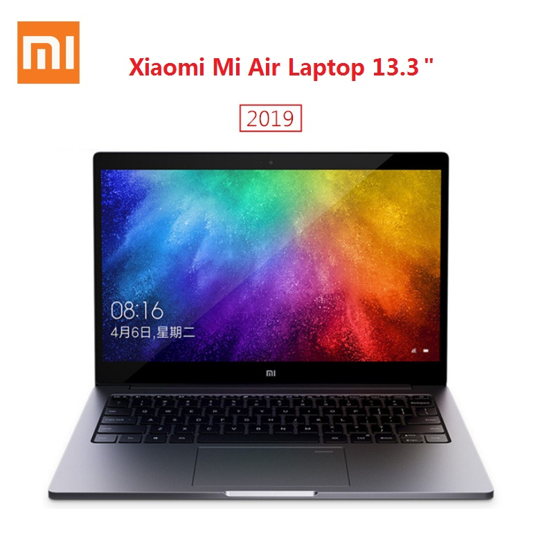 2019 Xiaomi Mi Air Laptop 13.3 inch Windows 10 Intel Core i5-8250U / i7-8550U NVIDIA GeForce MX250 8GB RAM 256GB SSD Fingerprint image