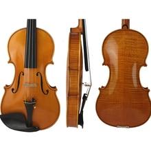 Free Shipping Copy Guiseppe Guarneri del Gesu II 1743 Violin FPVN04 Oil Varnish 100% Handmade Case Carbon Fiber Bow FP901