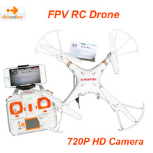 Hot items RC drone X6sw 2.4G Remote Control Helicopter Quadcopter with Wifi FPV HD Camera MJX C4016 720P 1.0MP Professional UAV