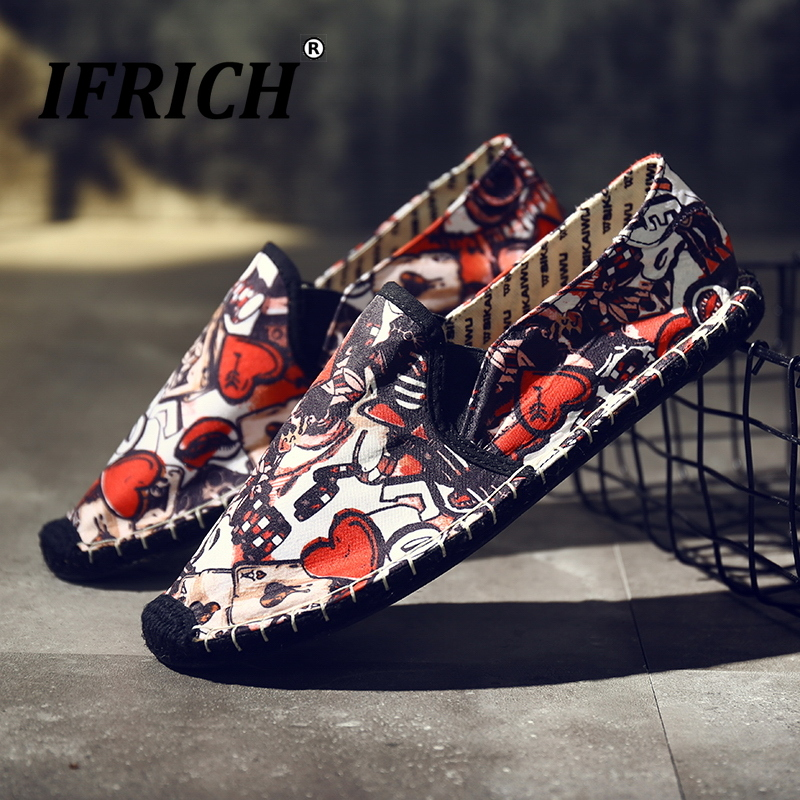New Cool Men Walking Footwear Handmade Young Casual Men Shoes Designer Sneakers For Mens Slip On Lazy Shoes Fashion Man Shoes