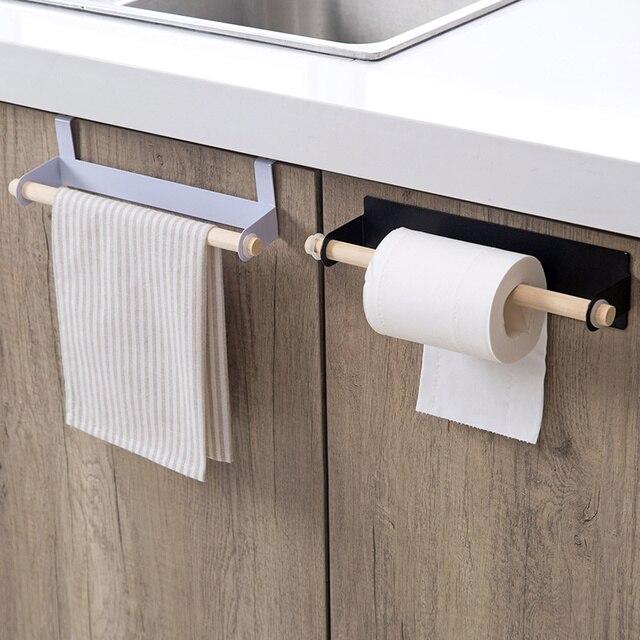 Handtuchhalter Holz handtuchhalter bad kostenlos perforierte racks kreative schrank