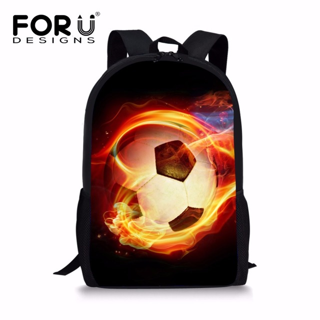 5606c45791a5 FORUDESIGNS 3D Ball Printing Backpacks for School Girls Boys