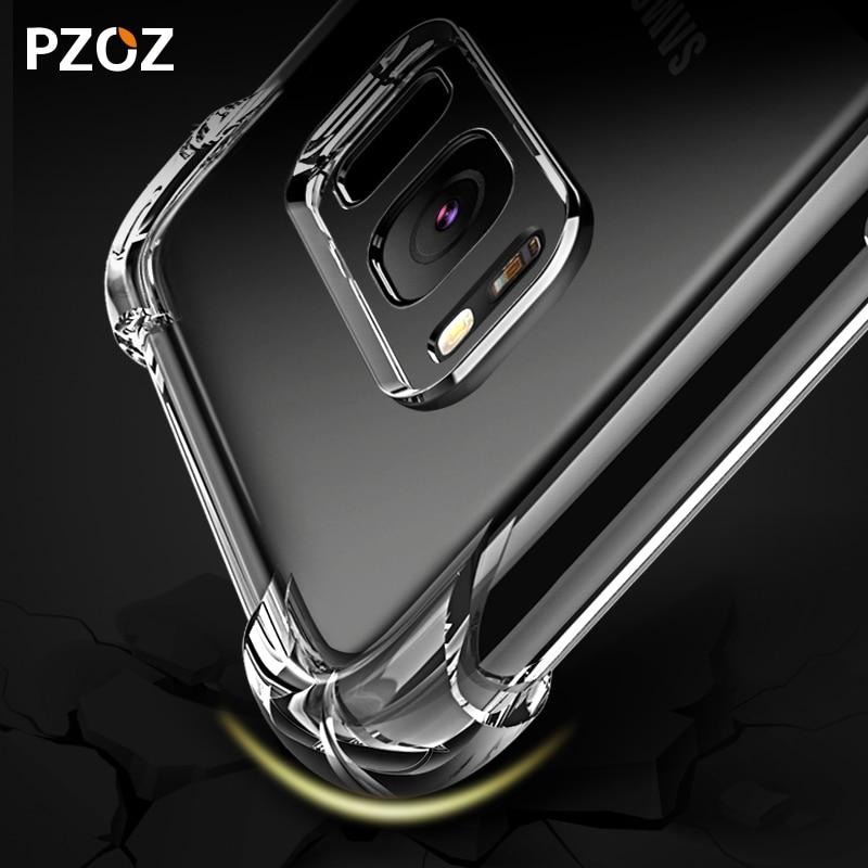 PZOZ Samsung Note 9 Case S9 S8 սիլիկոնային շքեղ - Բջջային հեռախոսի պարագաներ և պահեստամասեր - Լուսանկար 4