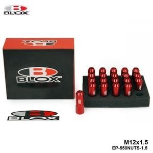 Image 4 - Blox Racing Forged 7075 Aluminum Wheel Lug Nuts P 1.5, L: 60mm 20Pcs EP 550NUTS 1.5