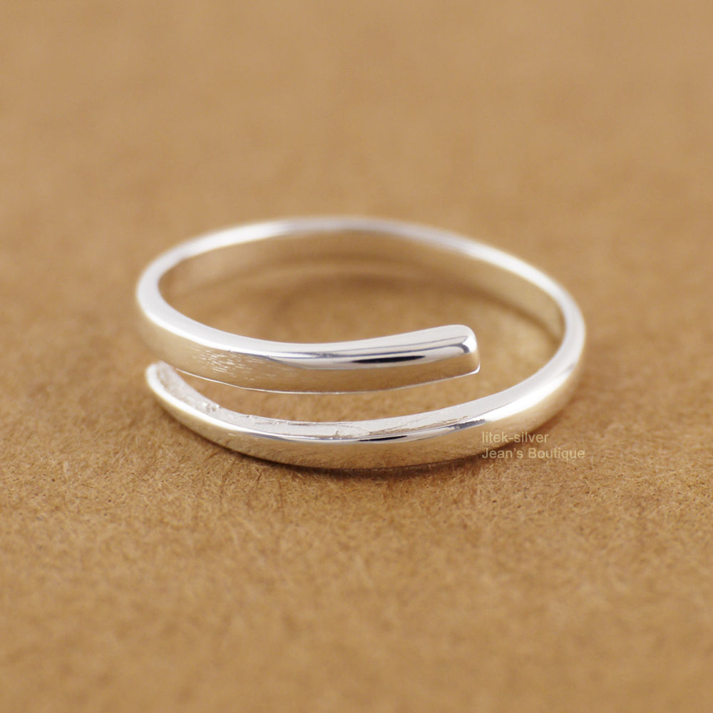 STERLING SILVER AND 12 KARAT GOLD FILLED FOUR WIRE TOE RING Sweet Emily/'s Collection