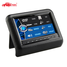 CARAVAN 7″ HD LED Touch Screen Active Headrest DVD Player Monitor with 800*480 Resolution Car Styling