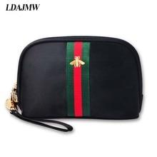 LDAJMW Fashion Nylon Material Cosmetics Storage Bag Untuk Gincu Wanita Alis Pensil Tangan Krim Tangan Krim Portable Penganjur