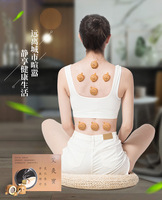 new 8pcs acupuncture massage moxa box with 100pcs moxa sticks and body/foot moxibustion massage paste