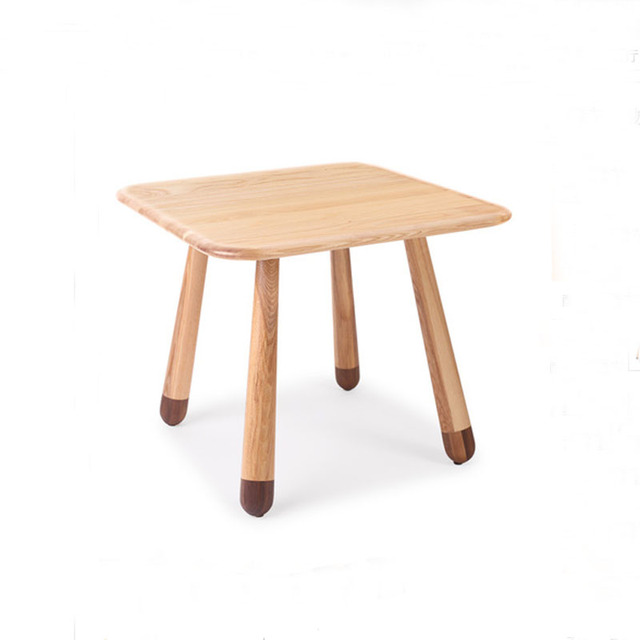 Solid Wood Square Children Table