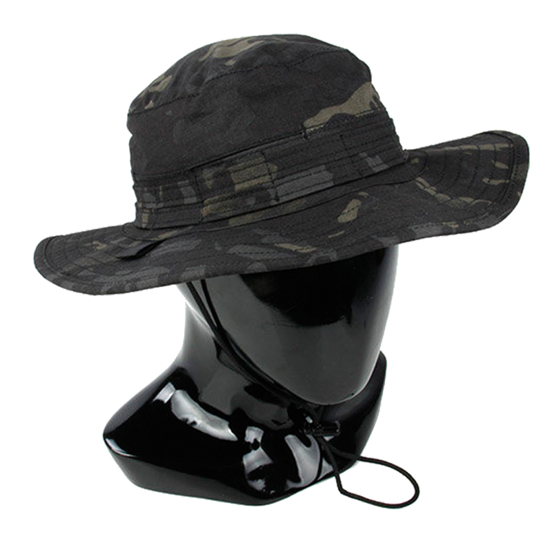 bb17e934a9e TMC Boonie Hat Hunting Wargame Army Adjustable Anti scrape Airsoft Outdoor  Combat Gear Camo Hat TMC2629-in Hunting Caps from Sports   Entertainment on  ...