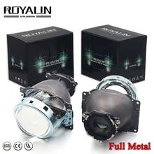 Full Metal Q5 3.0 inch Bi xenon Projector Lens Headlight for Auto Bulbs D1S D2S D2H D3S D4S LHD RHD Hi/Low Car styling Retrofit цена в Москве и Питере