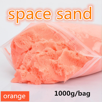 amazing toys Hot sale 1000G dynamic Amazing DIY educational toys No-mess Indoor Magic Play Sand Children toys Mars space sand