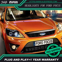 High Quality HID LED Headlights Headlamps HID Hernia Lamp Accessory Products Case For Ford Focus 2009